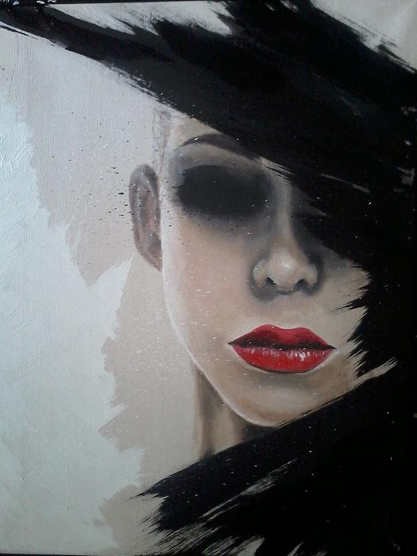 30x40 Acryl on canvas SOLD