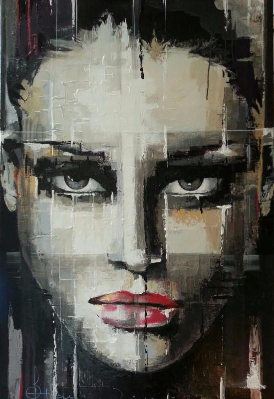80x120 Acryl on canvas  SOLD