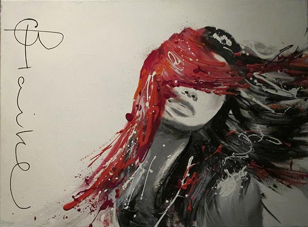 80x60 Acryl on canvas