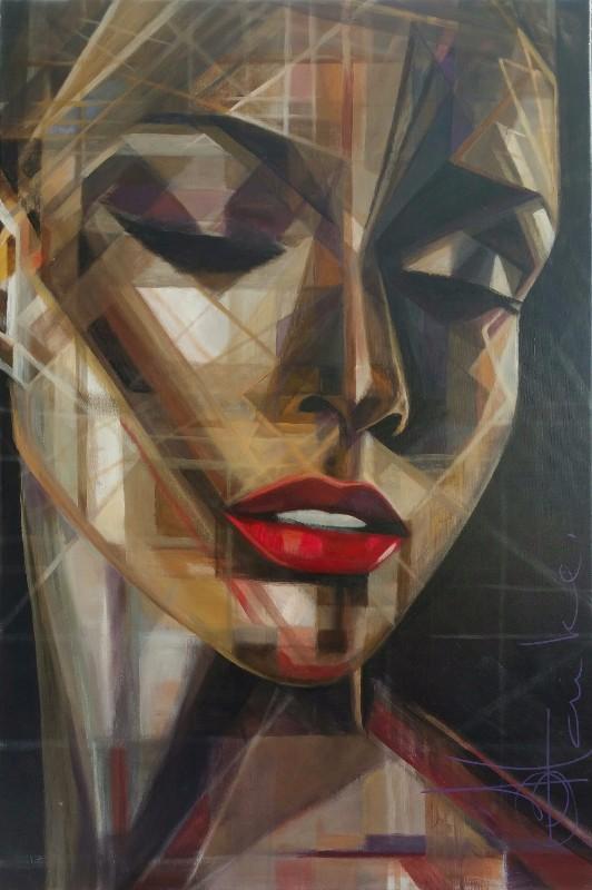 80x120 Acryl on canvas