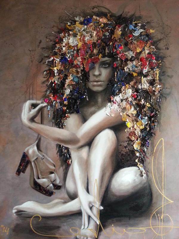 120x100 Acryl on canvas SOLD